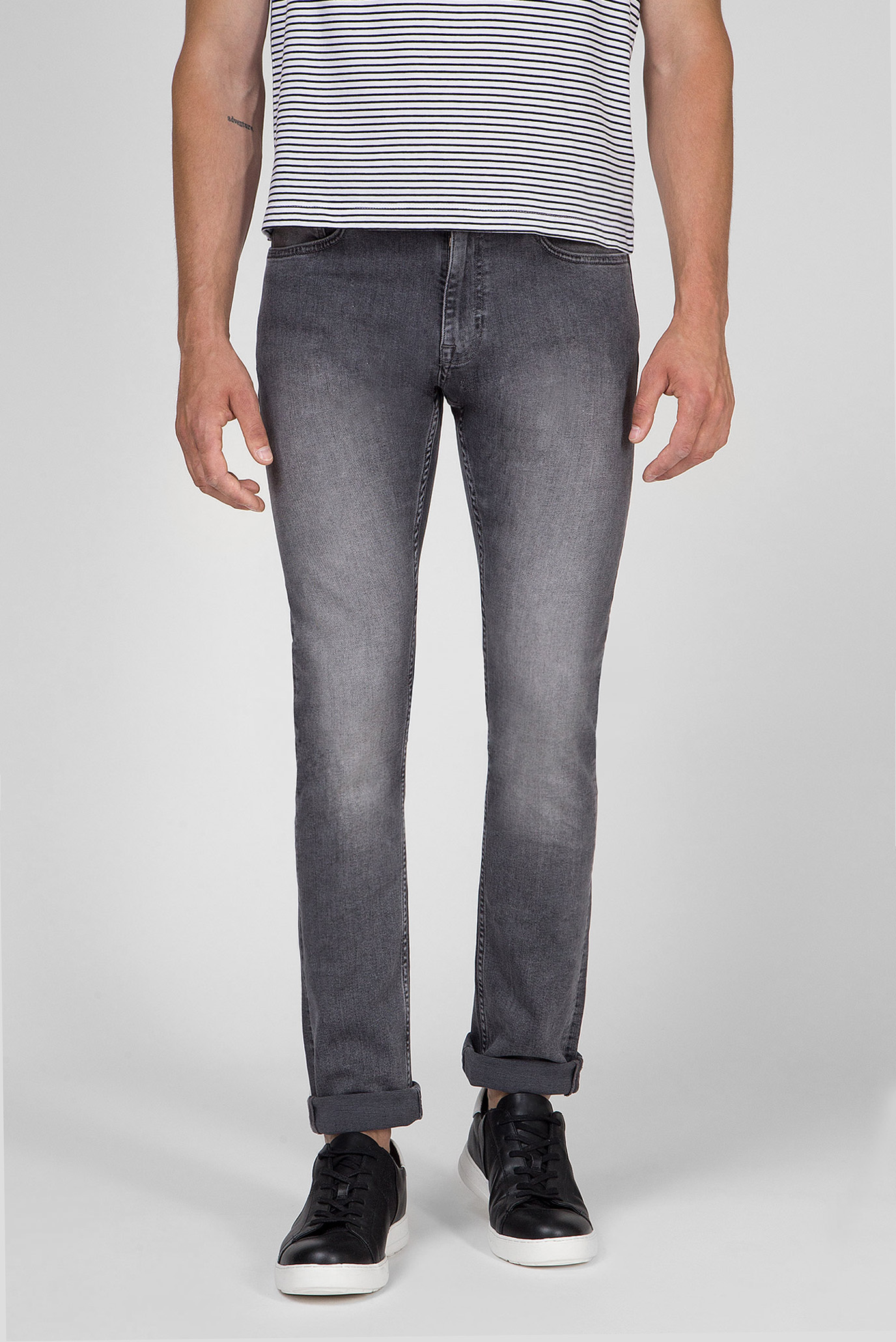 Мужские серые джинсы SLIM FIT GREY STRETCH DENIM Calvin Klein