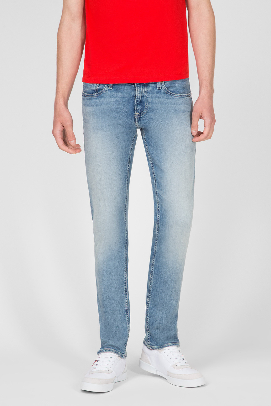 Мужские голубые джинсы SLIM SCANTON