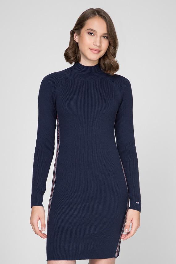 Женское темно-синие платье-свитер TJW SWEATER DRESS