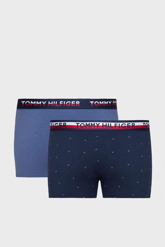Мужские синие боксеры TRUNK PRINT  (2 шт)