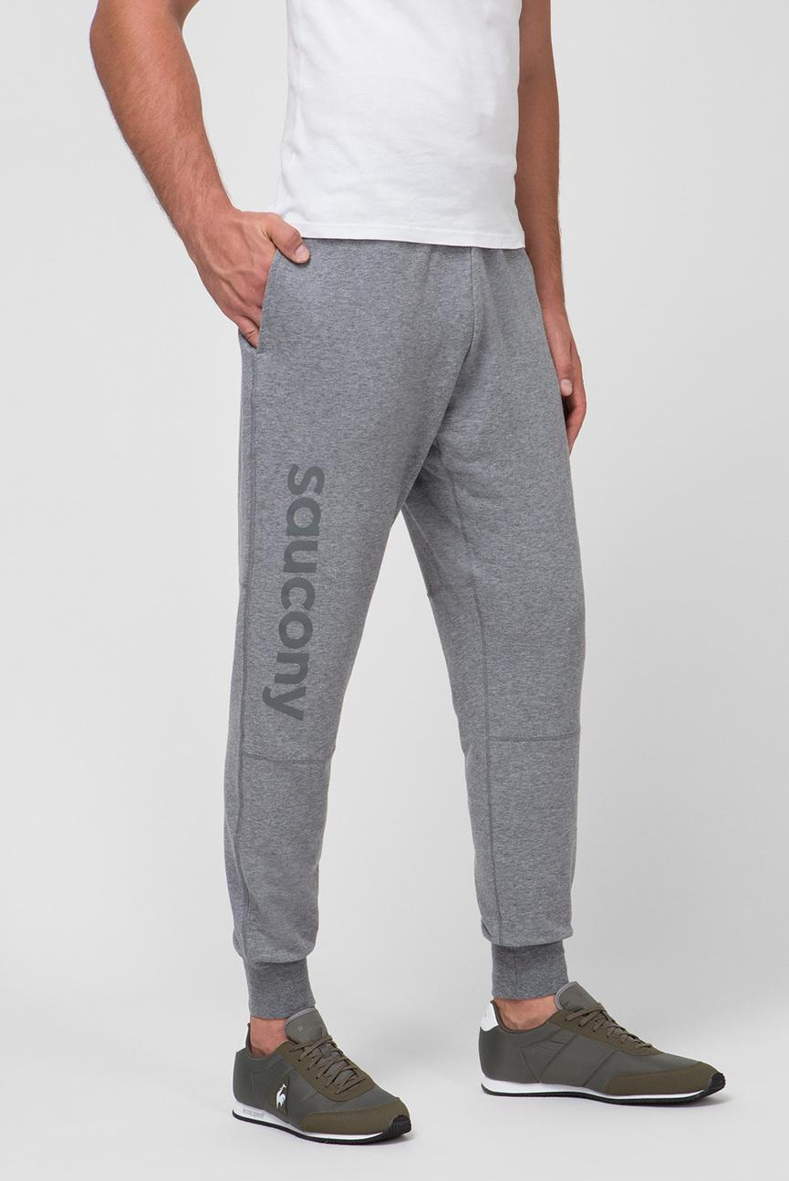Мужские серые спортивные брюки Life on the Run