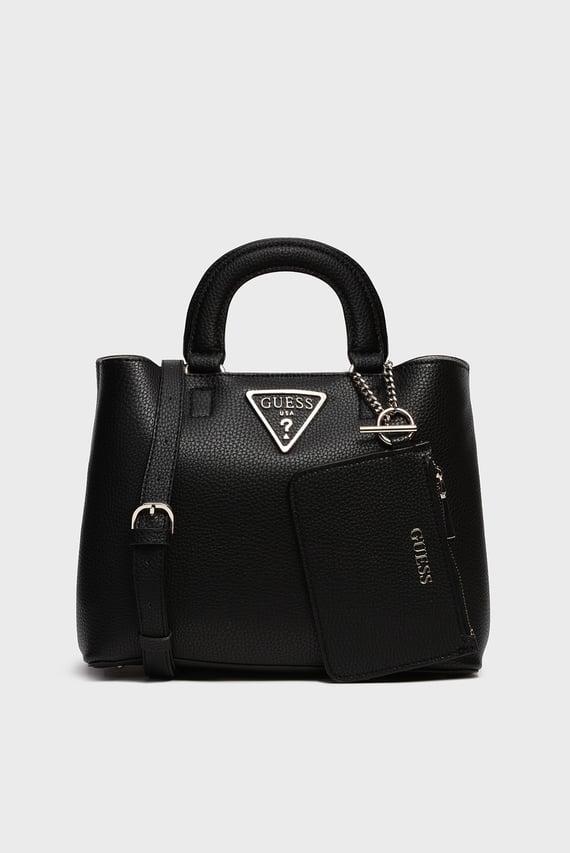 Женская черная сумка GIRLFRIEND SATCHEL