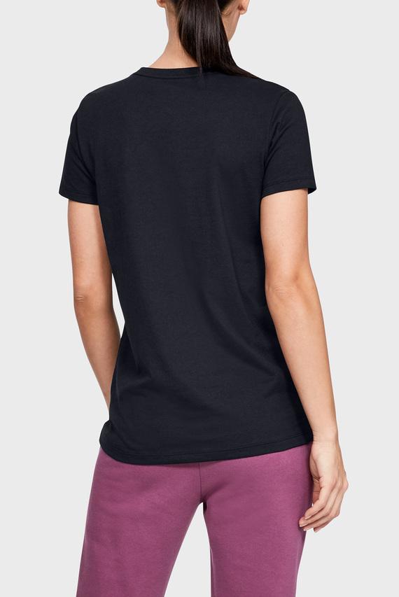 Женская черная футболка GRAPHIC SPORTSTYLE CLASSIC CREW