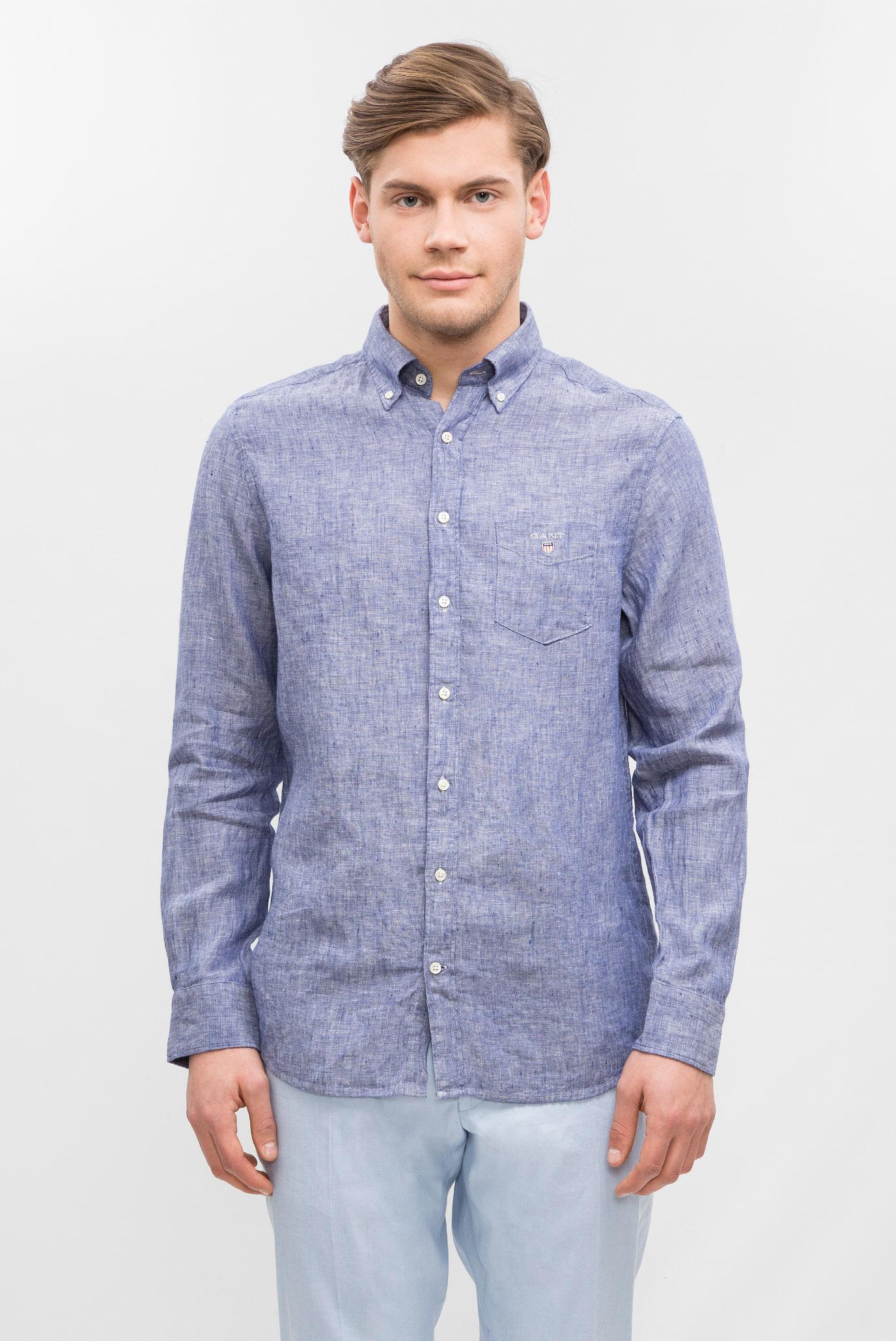 Купить Мужская синяя рубашка Gant Gant 3040620 – Киев, Украина. Цены в интернет магазине MD Fashion
