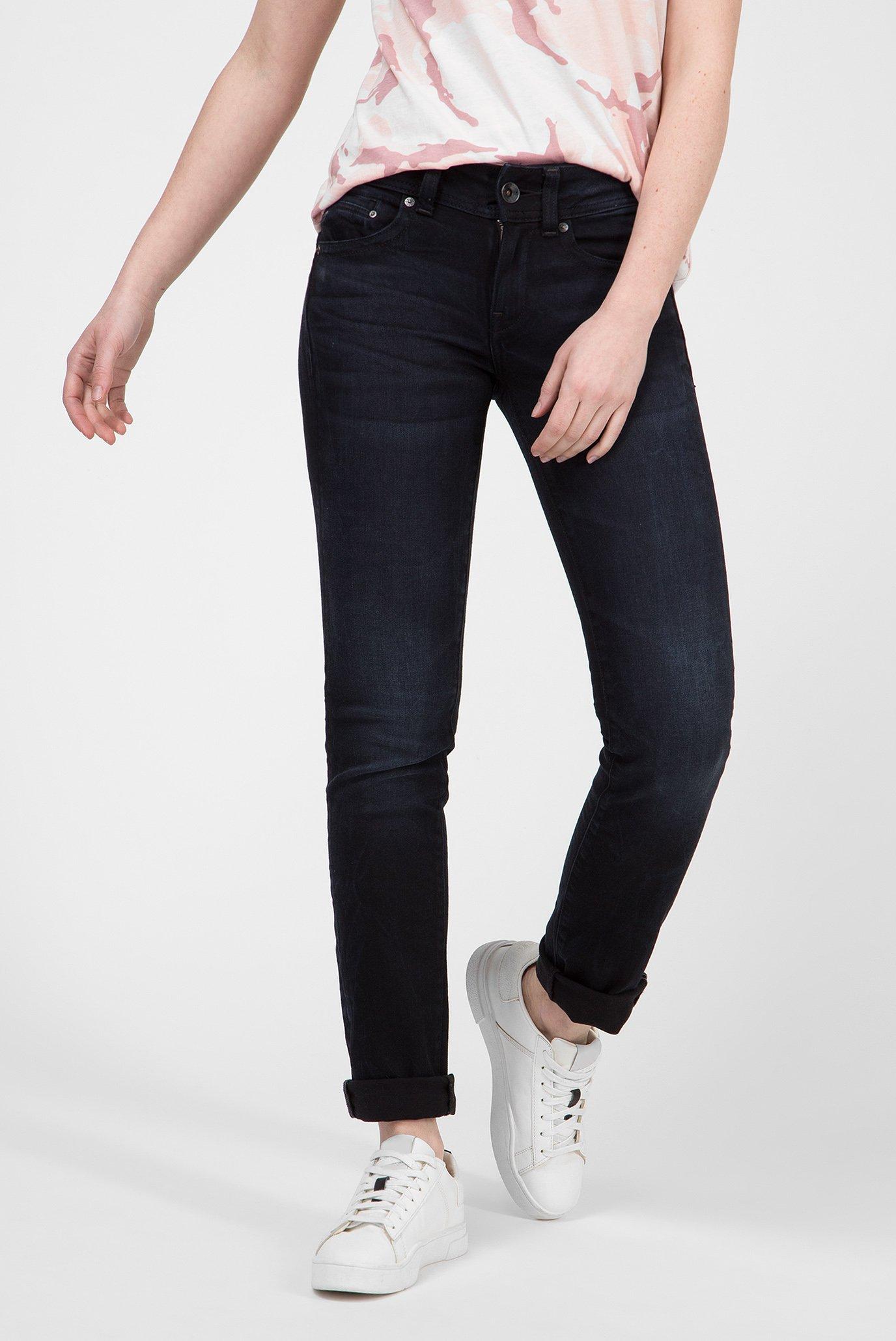Женские темно-синие джинсы Midge Saddle Straight 1
