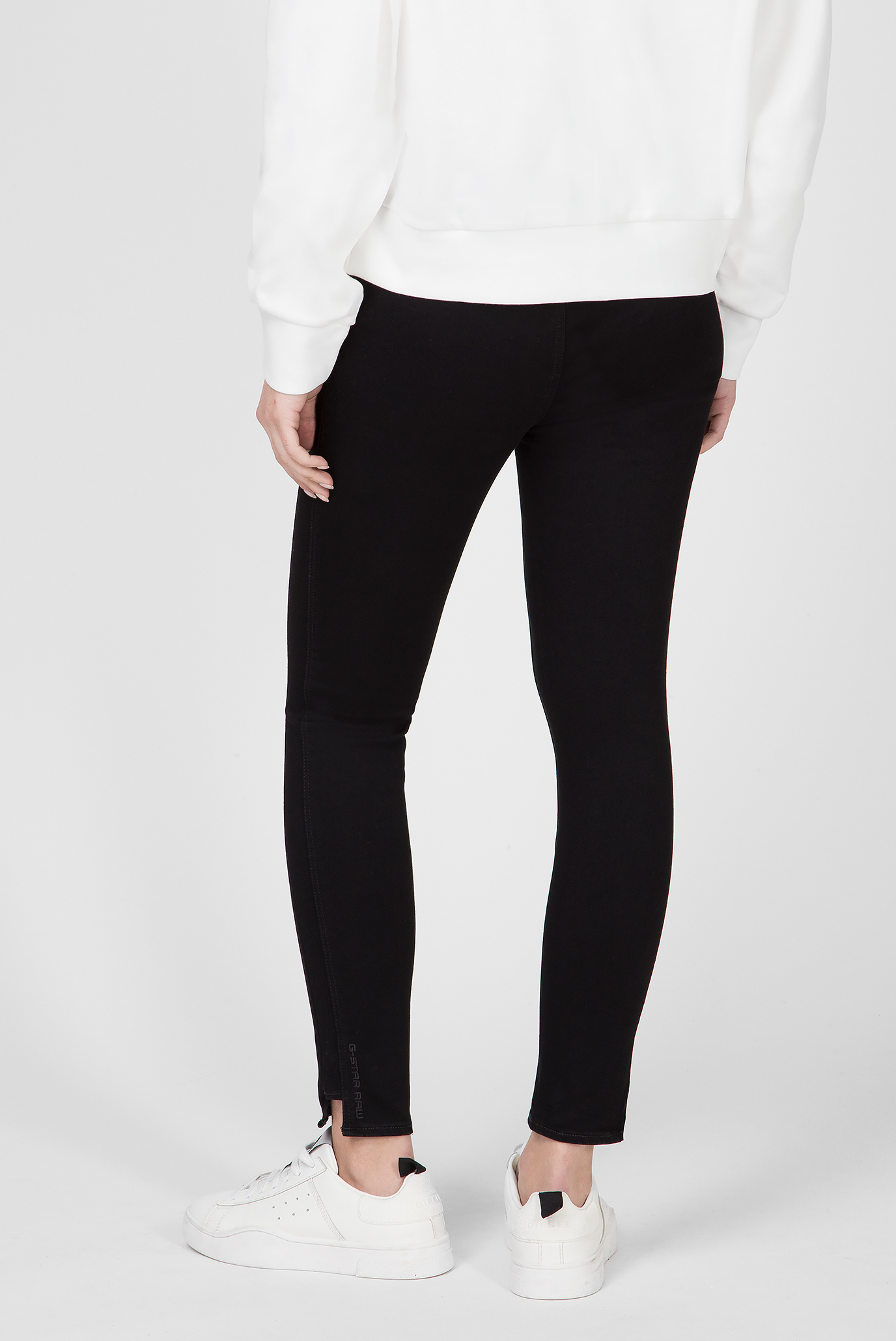 Женские черные джинсы Citi-You High Jegging Ankle G-Star RAW