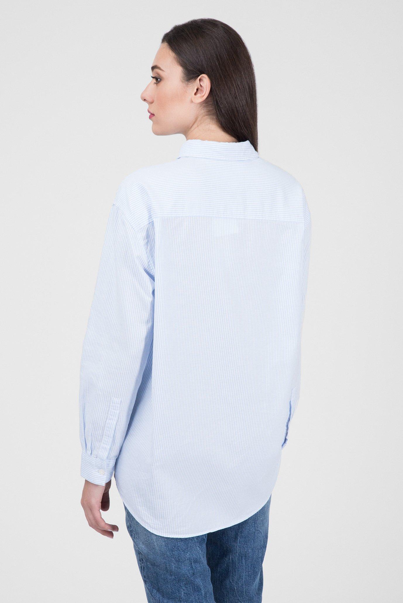 Купить Женская белая рубашка в полоску ICON Tommy Hilfiger Tommy Hilfiger WW0WW23724 – Киев, Украина. Цены в интернет магазине MD Fashion