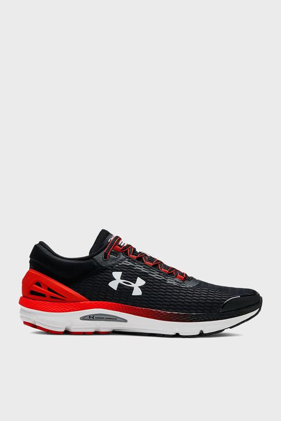 Мужские черные кроссовки UA Charged Intake 3
