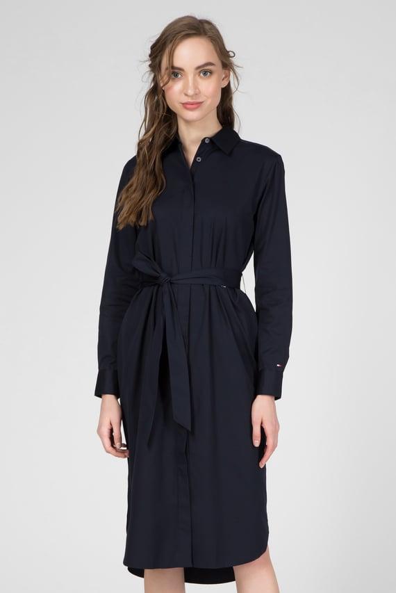 Женское темно-синее платье TH ESSENTIAL