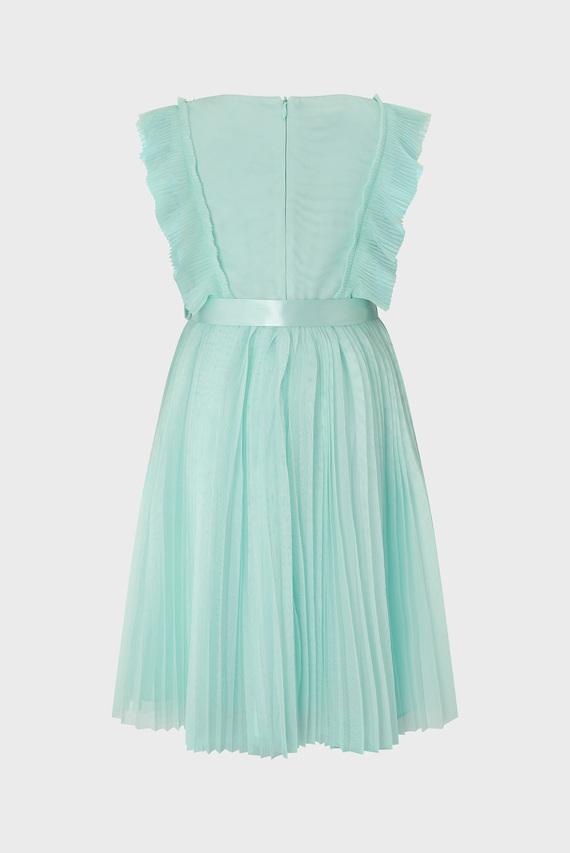 Детское мятное платье S.E.W GABRIELLA PLEA
