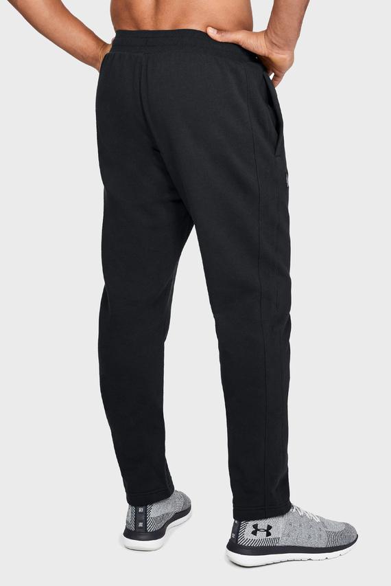 Мужские черные спортивные брюки RIVAL FLEECE