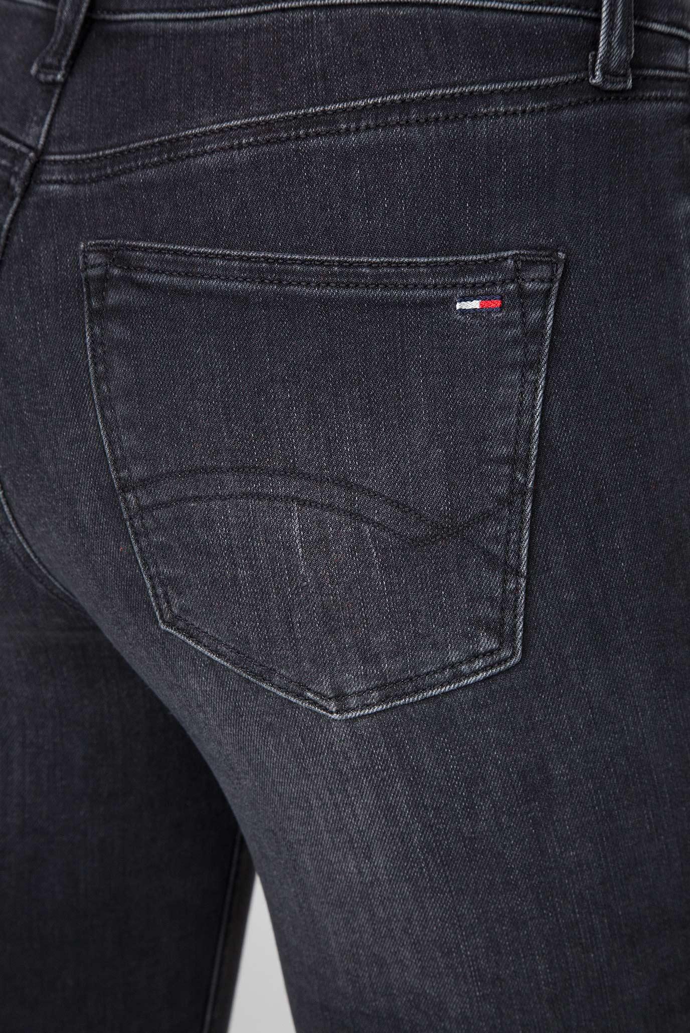 Женские черные джинсы MID RISE SKINNY NORA Tommy Hilfiger