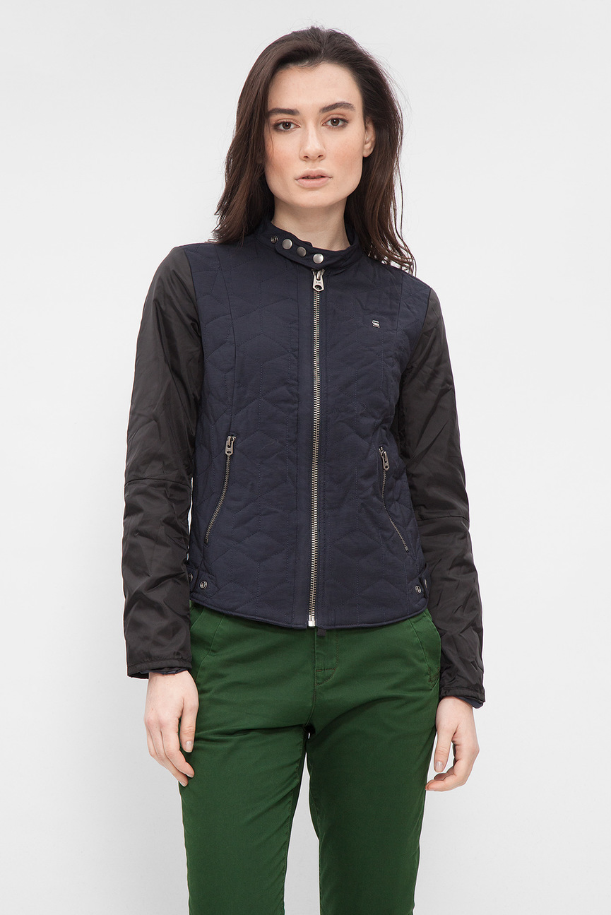 Женская темно-синяя куртка