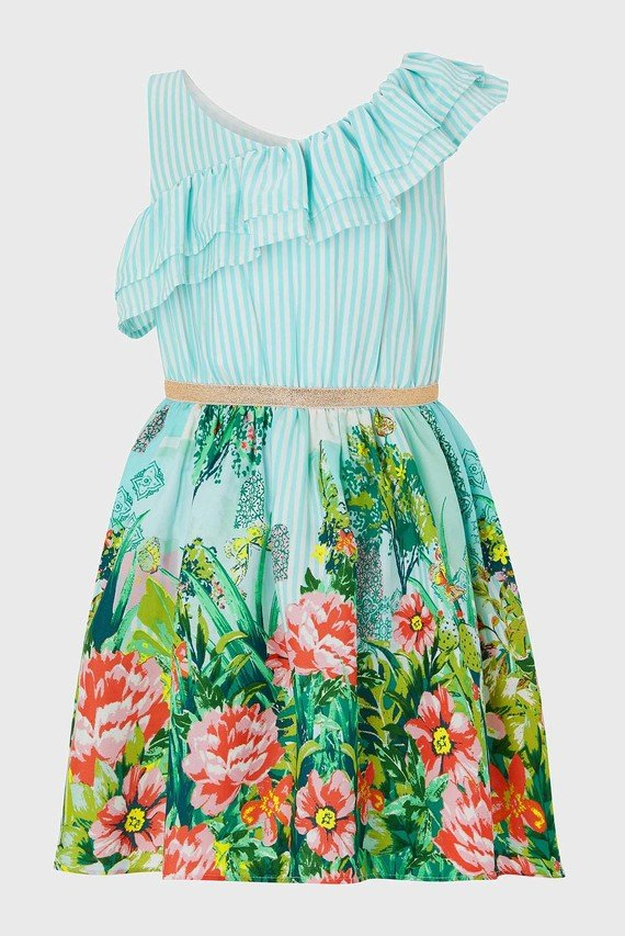 Детское голубое платье Valentina