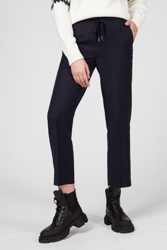Женские темно-синие брюки GRETA