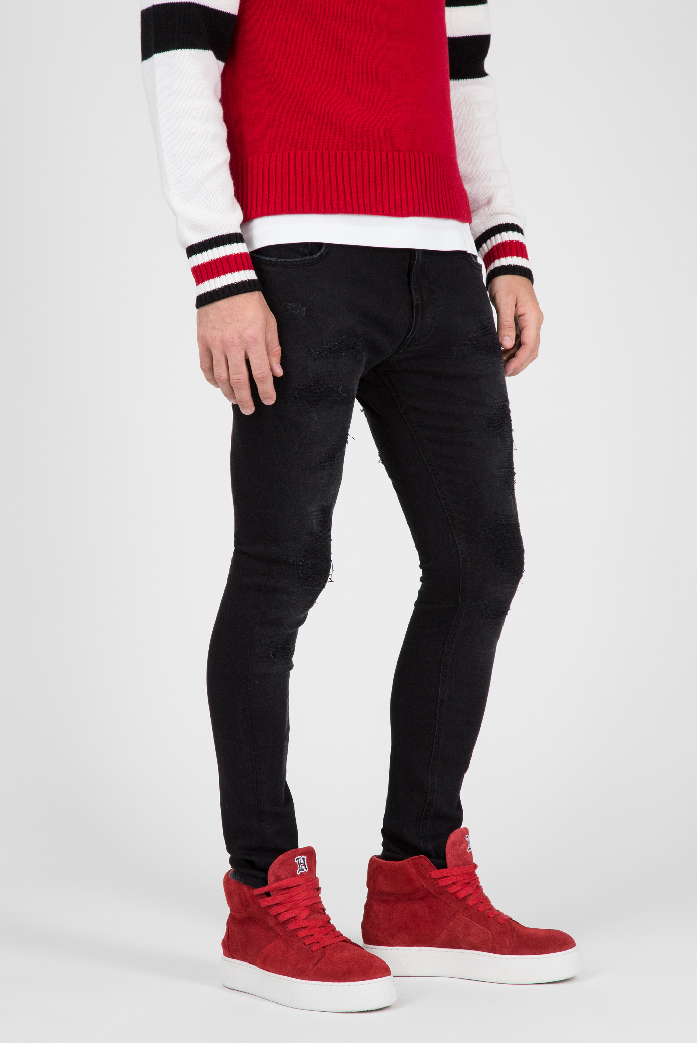 Купить Мужские черные джинсы LEWIS HAMILTON Tommy Hilfiger Tommy Hilfiger MW0MW08274 – Киев, Украина. Цены в интернет магазине MD Fashion