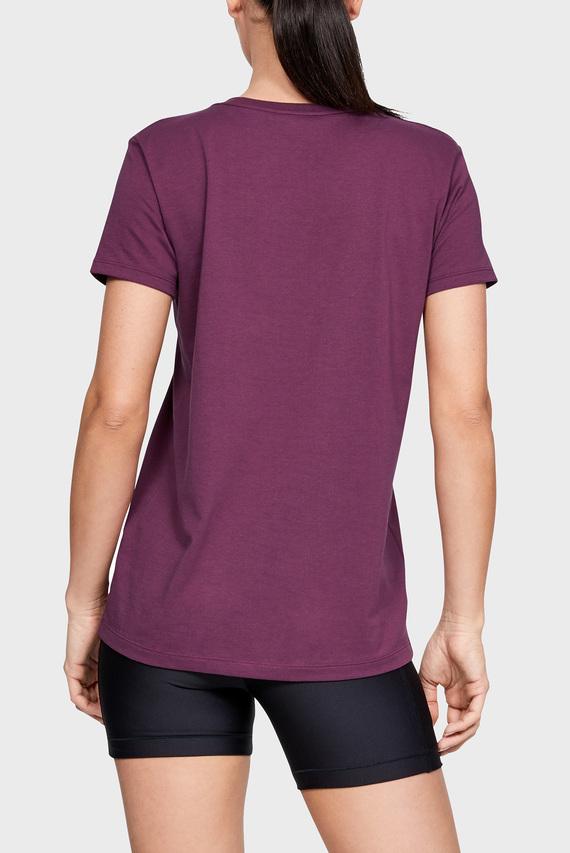 Женская фиолетовая футболка GRAPHIC SPORTSTYLE CLASSIC CREW