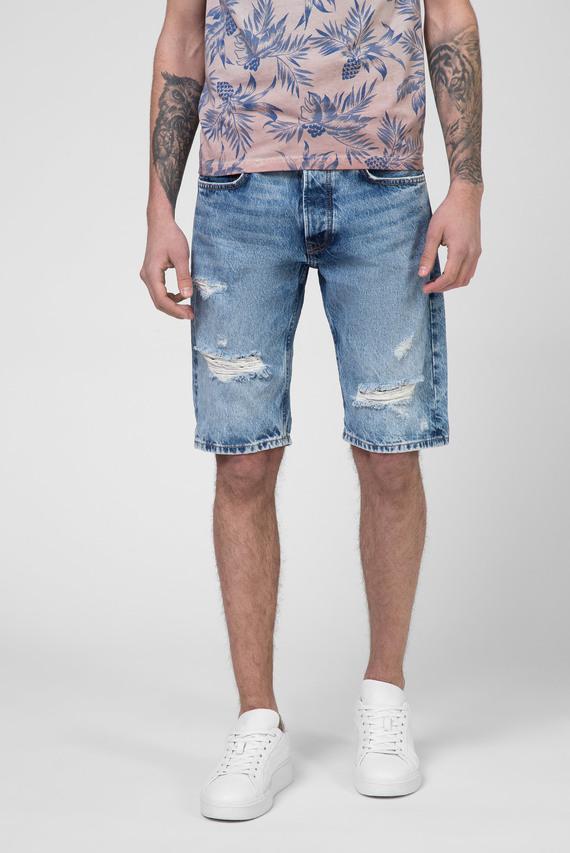 Мужские голубые джинсовые шорты CALLEN
