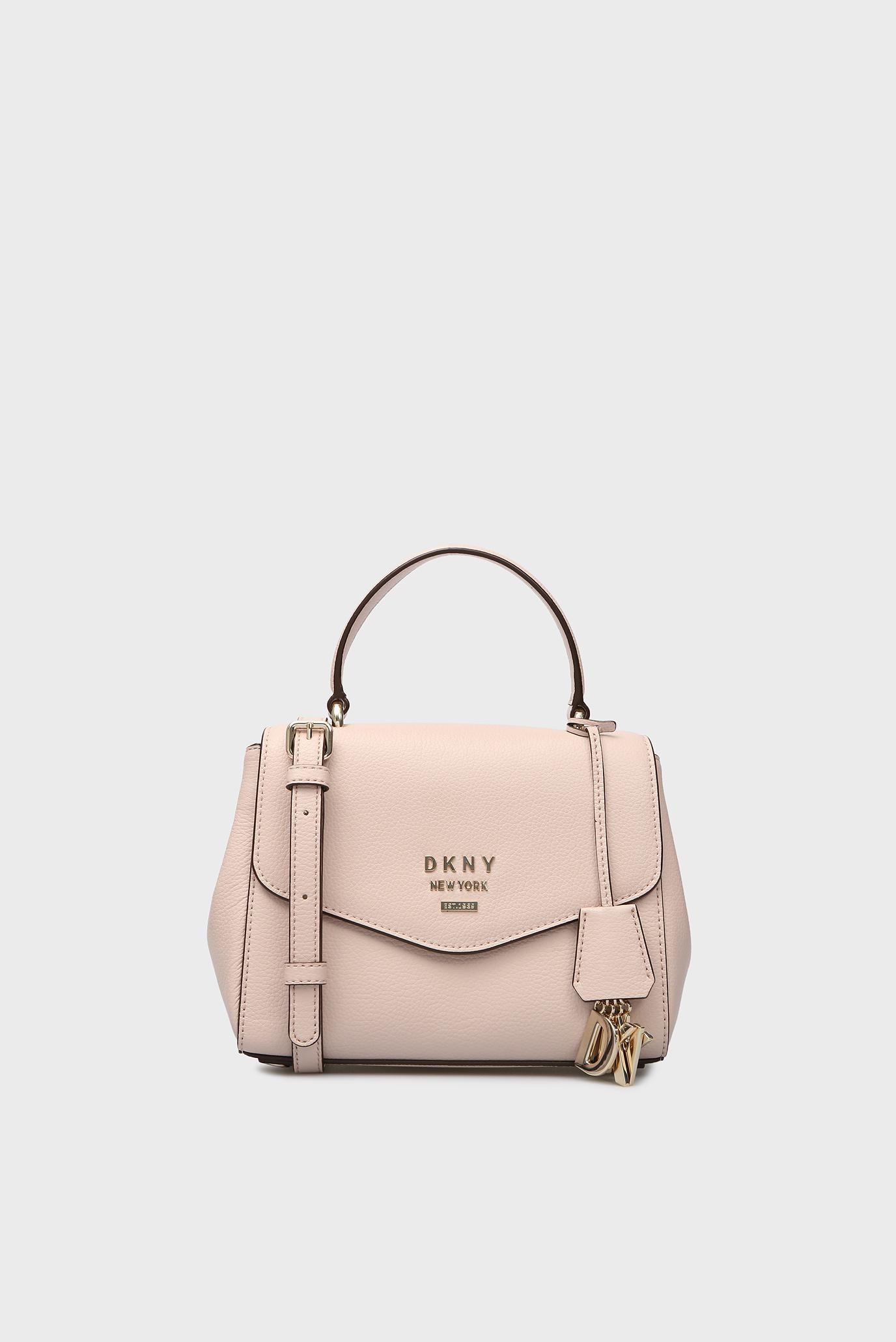 45b02cae8df5 Купить Женская пудровая кожаная сумка через плечо HUTTON DKNY DKNY R84DA928  – Киев, Украина. Цены в интернет магазине MD Fashion