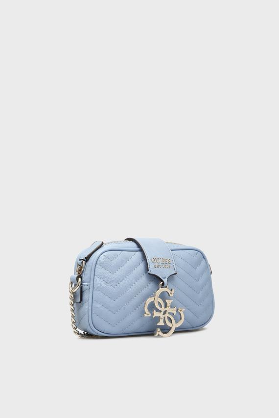 Женская голубая сумка через плечо VIOLET