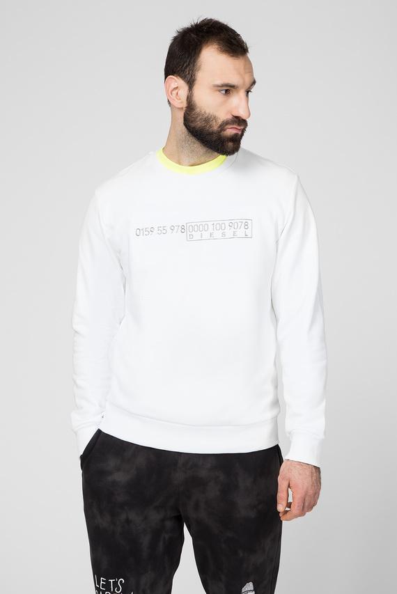 Мужской белый свитшот S-CORY