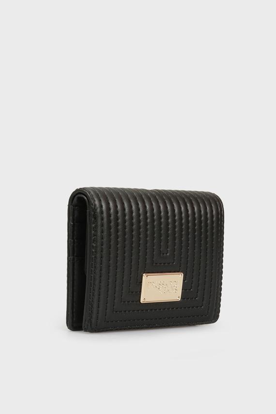 Женский черный кошелек FRIDA