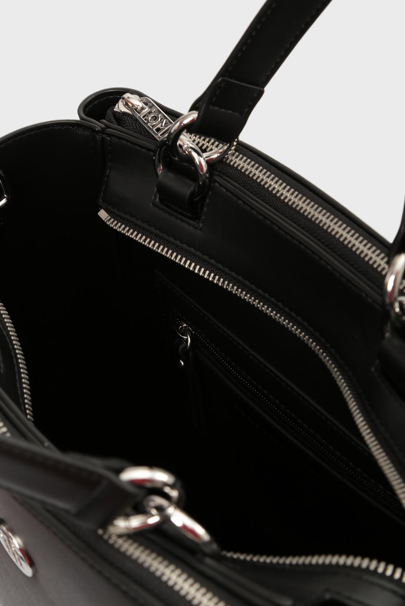Купить Женская черная сумка на плечо EFFORTLESS Tommy Hilfiger Tommy Hilfiger AW0AW05666 – Киев, Украина. Цены в интернет магазине MD Fashion