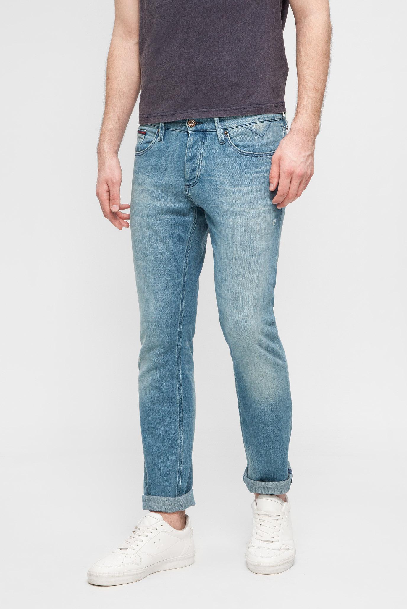 Купить Мужские голубые джинсы SLIM SCANTON DELBLCO Tommy Hilfiger Tommy Hilfiger DM0DM03811 – Киев, Украина. Цены в интернет магазине MD Fashion