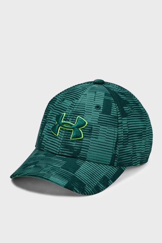Детская зеленая кепка Boy's Printed Blitzing 3.0