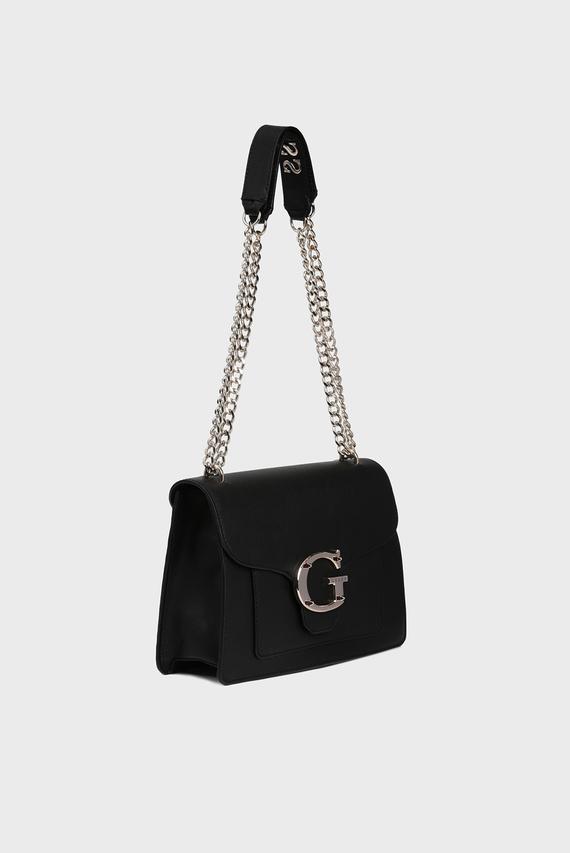 Женская черная сумка через плечо CAMILA CONVERTIBLE
