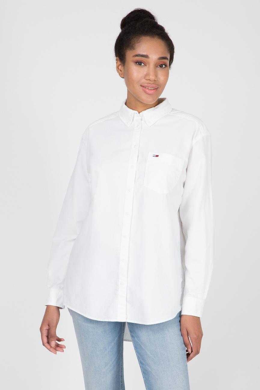 Женская белая рубашка TJW CLASSICS
