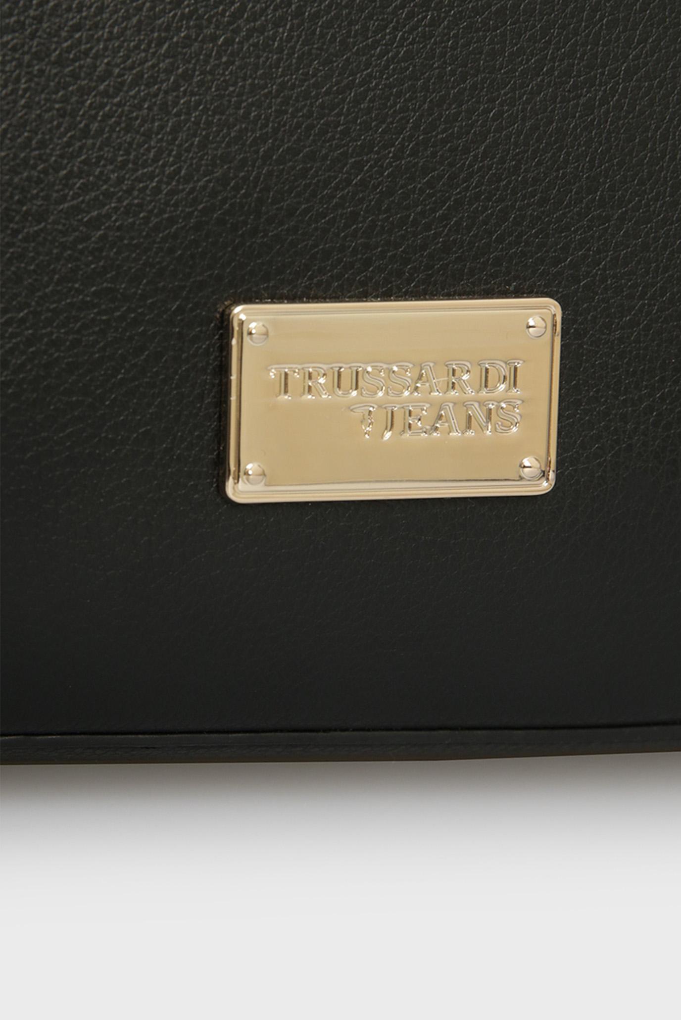 Черный женский рюкзак DAFNE Trussardi Jeans