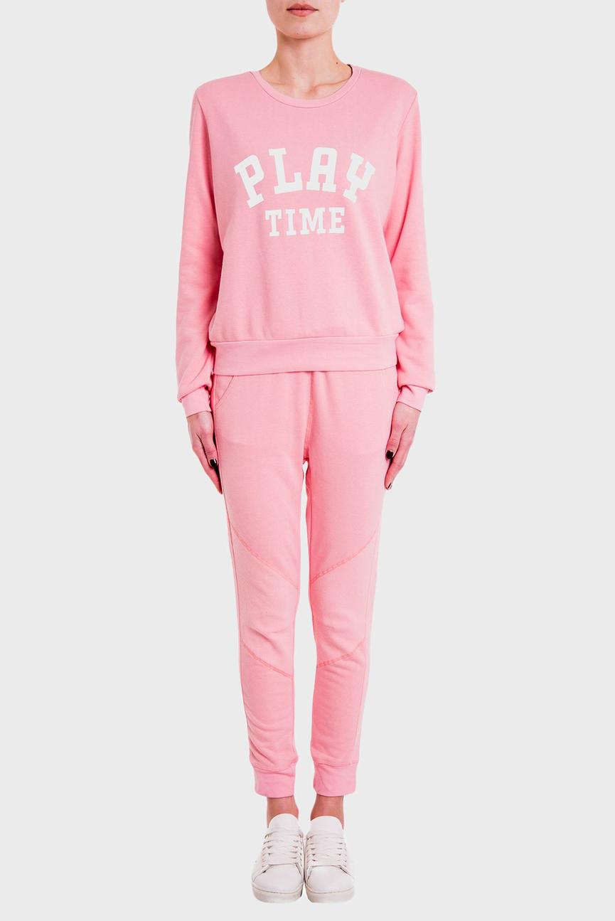Женский розовый спортивный костюм BREST+CECIL