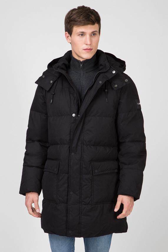 Мужская черная куртка LONG LENGTH