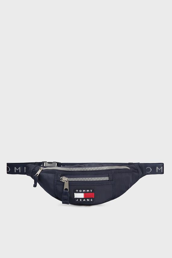Мужская темно-синяя поясная сумка TJM HERITAGE