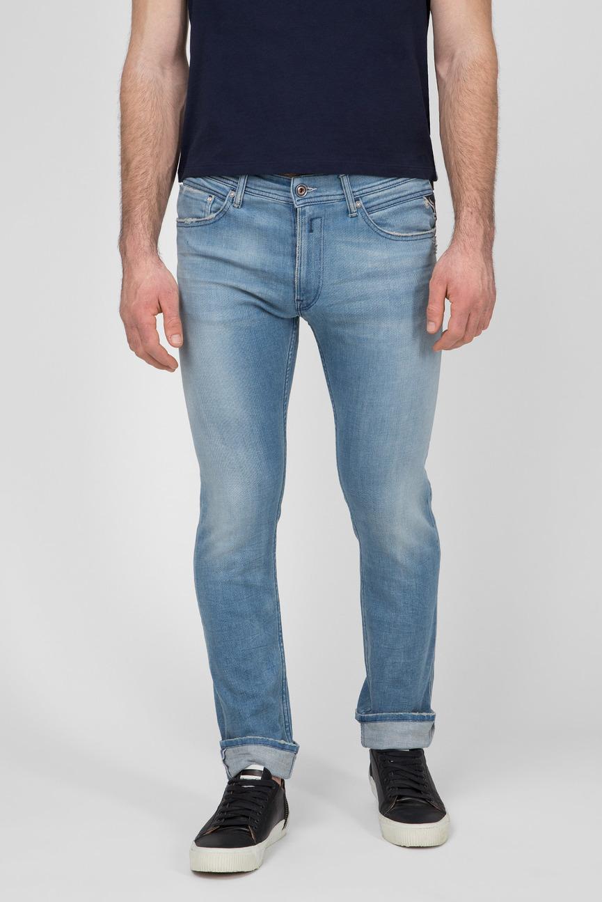 Мужские голубые джинсы JONDRILL