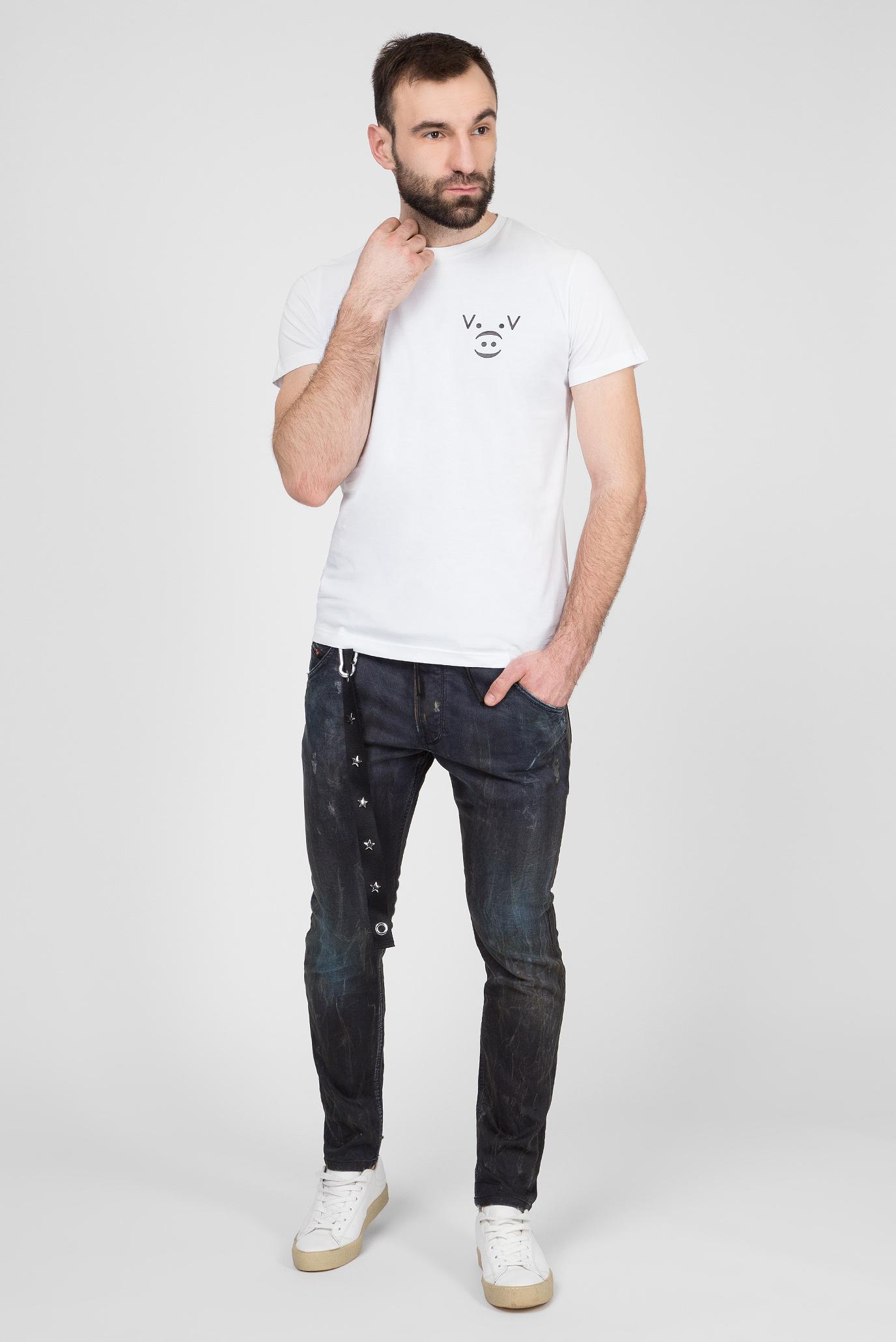Купить Мужские темно-серые джинсы CL-KROOLEY-CB-NE Diesel Diesel 00SY97 069IA – Киев, Украина. Цены в интернет магазине MD Fashion