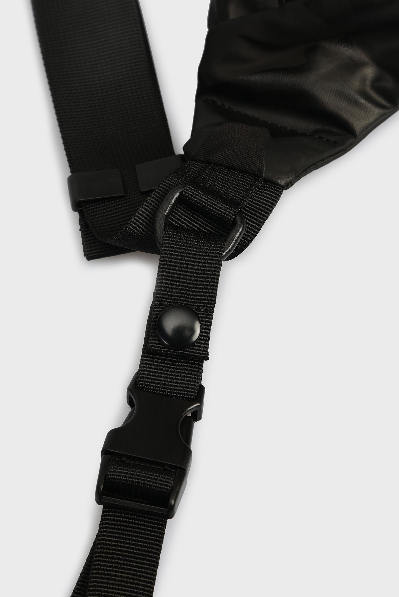 Мужская черная поясная сумка URBHANITY Diesel