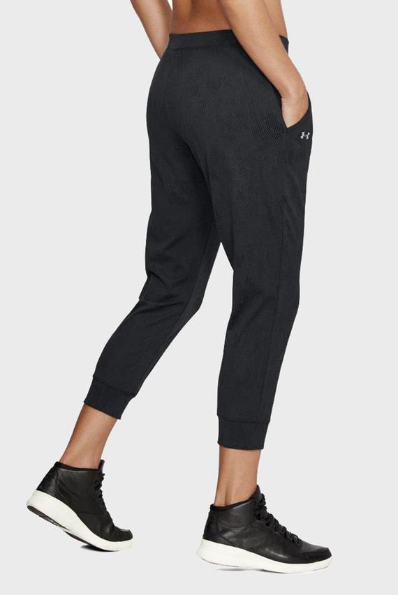 Женские черные спортивные брюки TB Balance Mesh Loose Crop