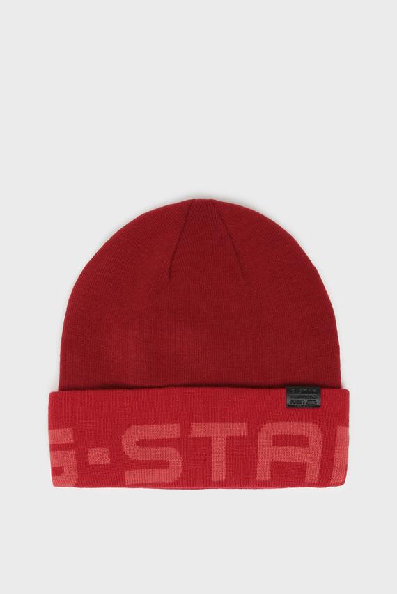 Мужская красная шапка Effo