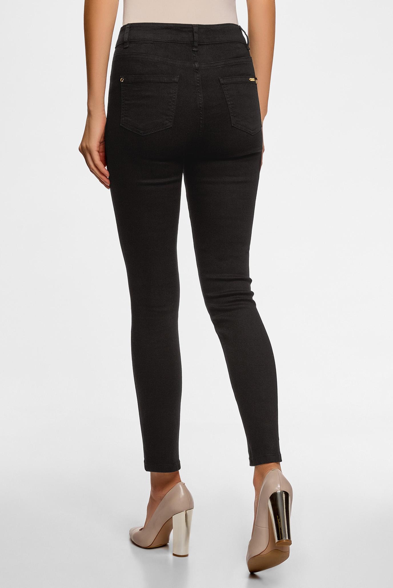 Женские черные джинсы Oodji