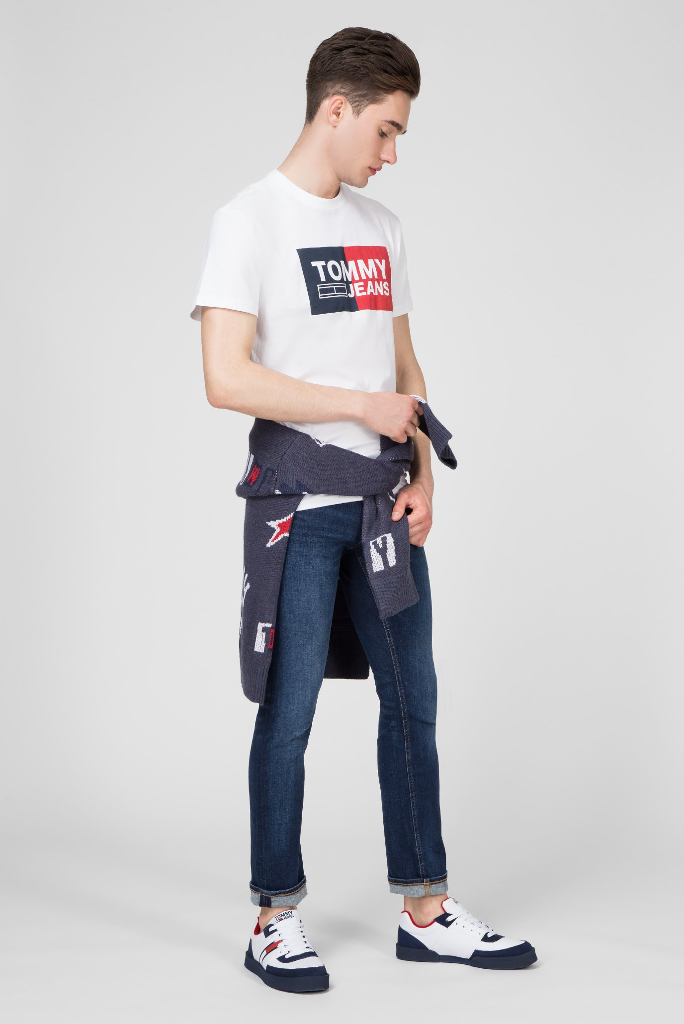 Купить Мужские синие джинсы SLIM SCANTON Tommy Hilfiger Tommy Hilfiger DM0DM05582 – Киев, Украина. Цены в интернет магазине MD Fashion