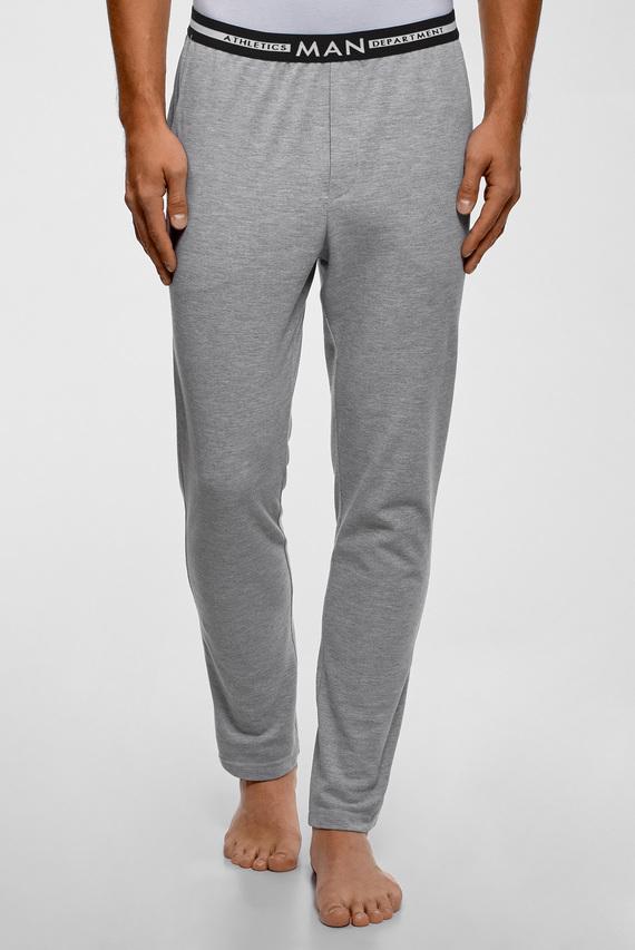 Мужские серые домашние брюки