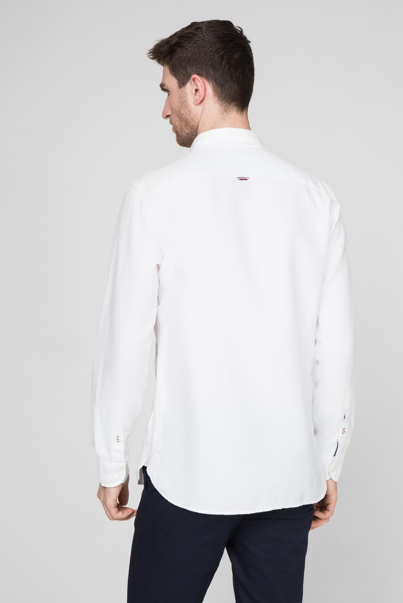 Мужская белая рубашка TWILL Tommy Hilfiger
