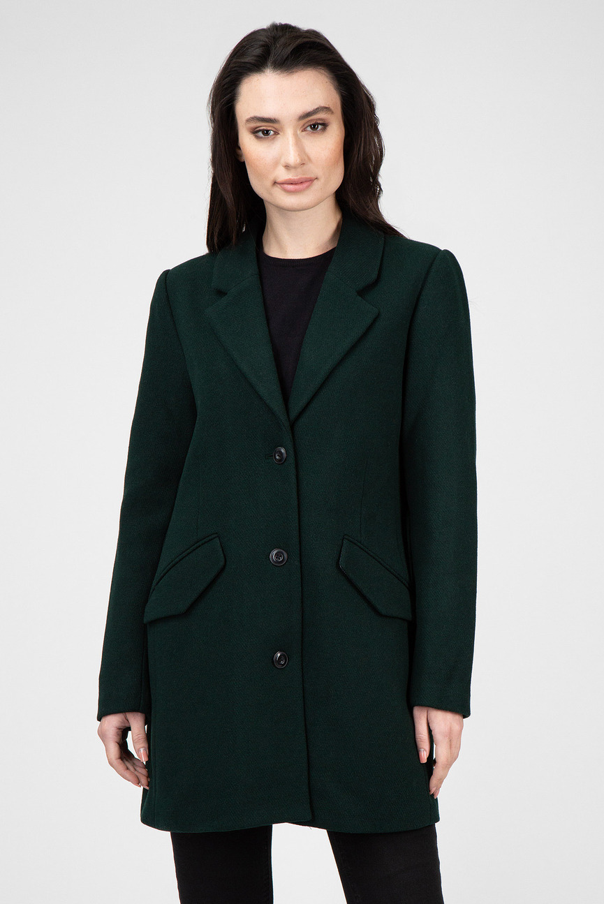 Женское зеленое пальто Minor