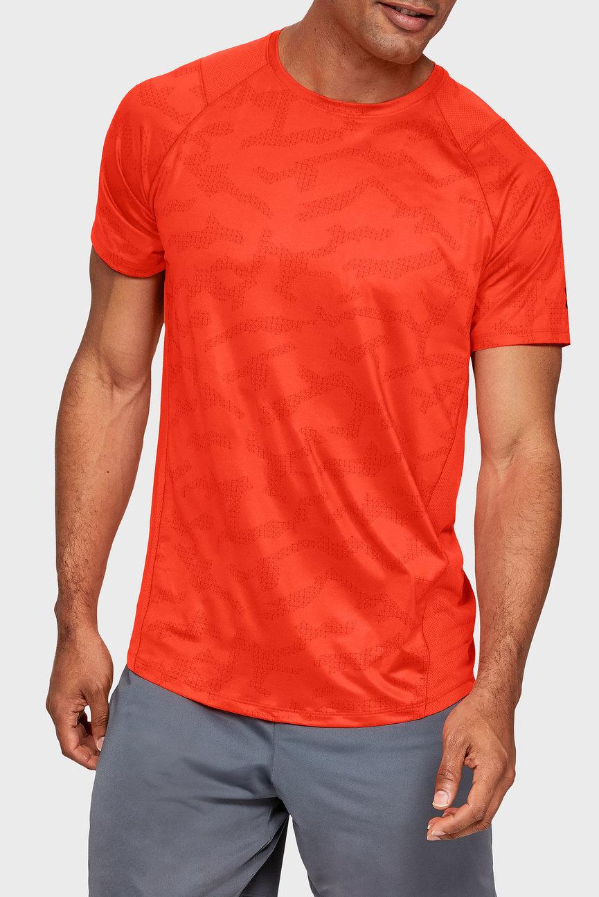 Мужская оранжевая футболка K1 SS Printed