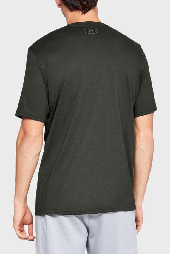 Мужская зеленая футболка UA BIG LOGO