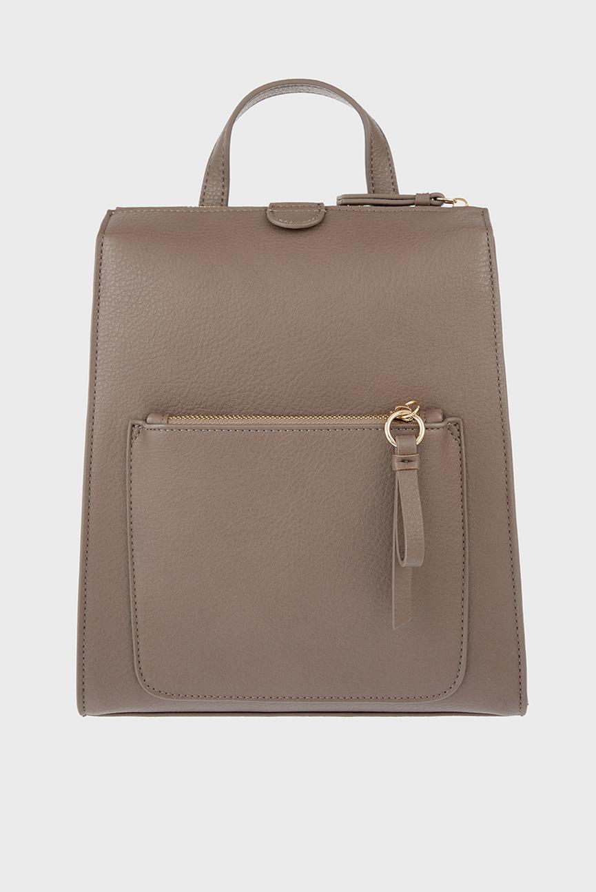 Женский бежевый рюкзак MILA BACKPACK