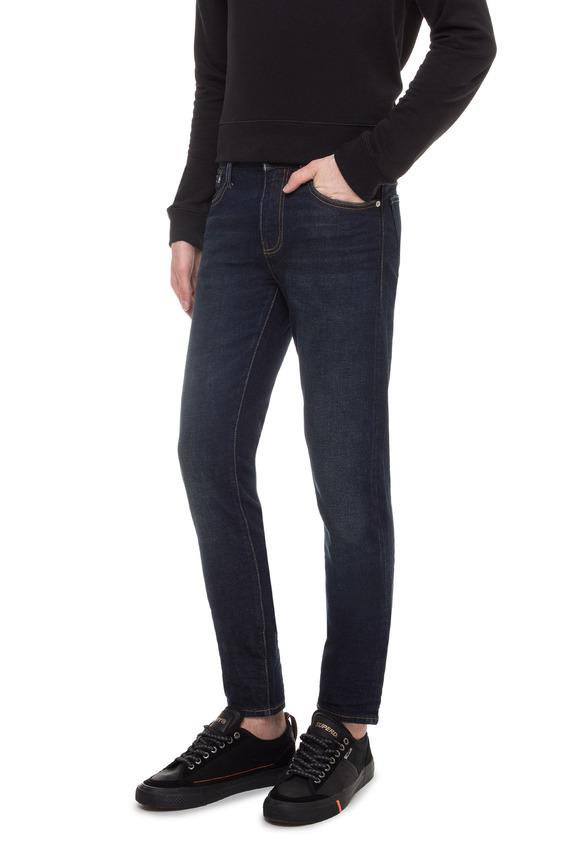 Мужские темно-синие джинсы Slim Selvedge
