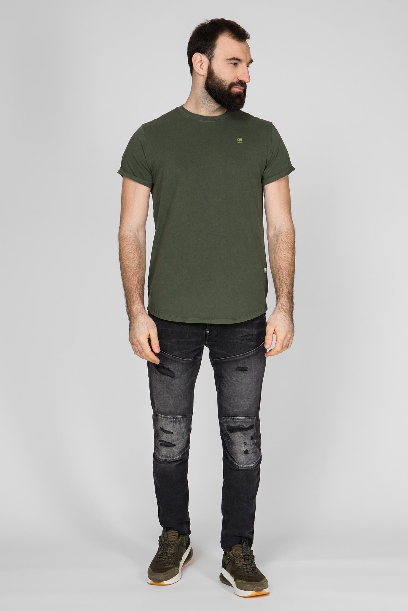 Мужские темно-серые джинсы 5620 3D Slim G-Star RAW